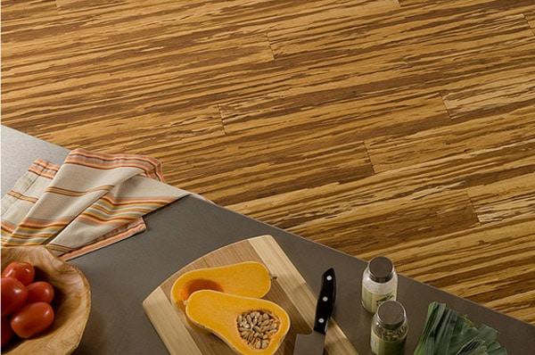 Brindled Stripes Bamboo Flooring