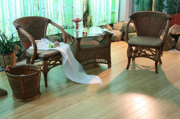 sunstrip yellow bamboo flooring